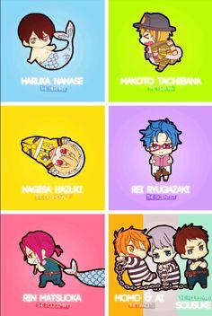Haruka,Makoto,Nagisa,Rei,Rin,Momo,Ai&Sosuke | Free Eternal Summer