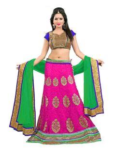 Latest Designer Pink Colour Lehenga Choli