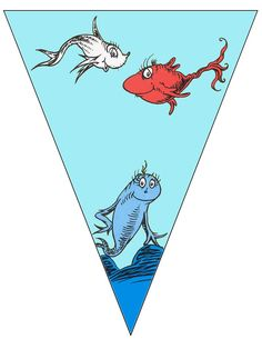 FREE printable Dr.Seuss banner ..... free to use and free to share for personal use only. <3