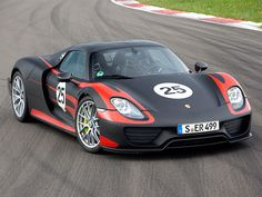 Porsche 918 Spyder....my son just informed me this is his dream car. I told him he'd better study well in school ;)