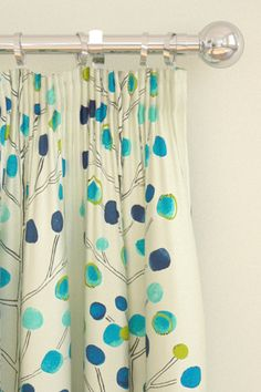scion berry tree curtains blue - Google Search