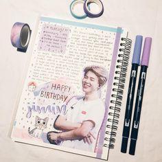 ~♡~ Bullet Journal Quotes, Bullet Journal School, Bullet Journal Ideas Pages, Bullet Journal Inspiration, Journal Pages, Journals, Diary Book, Art Diary, Bts Book