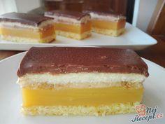 Výborný koláček pod názvem LAMBADA. Žádné máslo v náplni, žádný těžký krém, ale jen skvělá osvěžující chuť! Šťávu můžete použít podle chuti: pomerančovú, hruškovú, jahodovú, ... Autor: Triniti