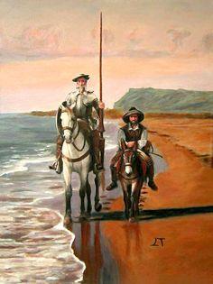 Don Quixote Quotes, Man Of La Mancha, Dom Quixote, Michael Moorcock, Homemade Art, Medieval Fantasy, Cultura Pop, Love Images, Art Tutorials