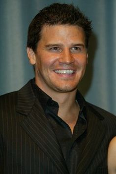 David Boreanaz. BOOTH! Love the Bones series!