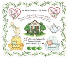 susan branch photo: Susan Branch _ Home Sweet Home SusanBranch_HomeSweetHome. Susan Branch Blog, Decoupage, Branch Art, Mary Engelbreit, Illustrations, Homemaking, Branches, Tea Party, Love Her