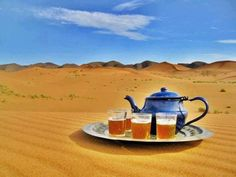 Desert Trip with Tea, Libya