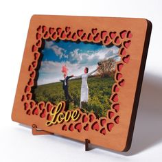 Photo frame, Love, Valentines Day Present, Gift for Him Boyfriend Man Husband or Her Girlfriend Women Wife