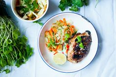 South Asian sesame chicken with cucumber and carrot salad.   http://ruokahommia.blogspot.fi/2015/11/kanaa-kaakkois-aasiasta-ja-kurkku.html?m=1
