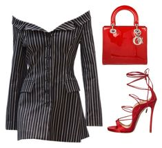 """""""Untitled #1071"""" by daniellexoxo196 ❤ liked on Polyvore featuring Dsquared2 and Christian Dior"""