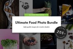 Ultimate Food Photo Bundle created by 'Stories by Scatter Jar' on @creativemarket Get over 200 hi-res food photographs in a matter of moments! #foodphotography #food #photos #bloggers #resource