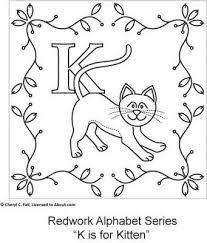 نتيجة بحث الصور عن hand embroidery letters patterns free