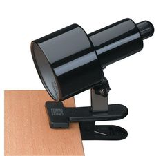 Lite Source LSF-112 Clip-On 1 Light Clamp-On Lamp Black Lamps Specialty Lamps Clamp-On Lamps