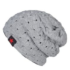 [AETRENDS] 2017 New Winter Hats for Men Knitting Keep Warm Beanie Hat Men's Cap Casual Knit Beanies for Male Z-0402