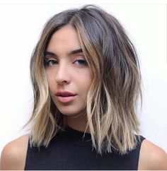 Transition hair from blonde to brunette