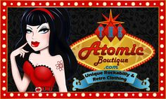 Rockabilly Retro Clothing | Pinup Clothing | Rockabilly Clothing | Retro Handbags | 50 s Clothing | Pin Up Shoes | Mod Clothing | The Atomic Boutique