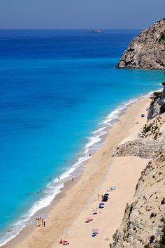 Egremni Beach, Lefkada, Greece - 50 of the Best Beaches in the World (Part 2)