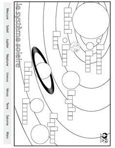solar system in german Teaching Science, Science Education, Teaching Tools, Venus, Solar System Worksheets, Mars, Fourth Grade Science, Solar System Crafts, Learning Italian