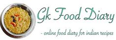 GKFoodDiary - Indian and Baby Food Recipe Blog