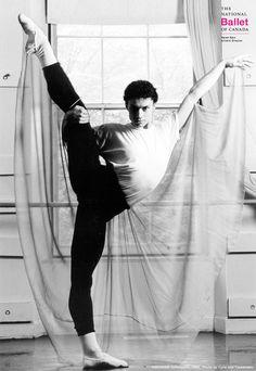 Throwback Thursday: Principal Dancer Aleksandar Antonijevic in the 1995/96 Souvenir Book. Aleksandar will be retiring this season after 23 glorious years at The National Ballet of Canada.