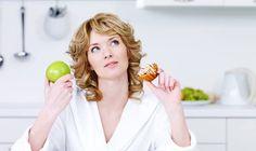 Scegliere tra cibo sano e dolci