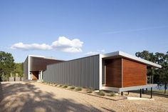 Postcard House in Missouri, USA by Hufft Projects #modular #arquitectura