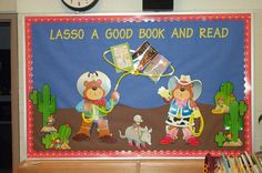 Cowboy bulletin board