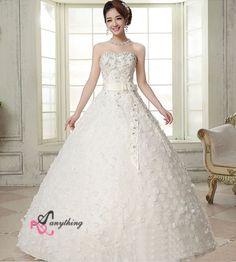 【楽天市場】【ウェディングドレス 二次会】妊婦さんもOK韓国風 刺繍 フリル ドレス 白 ドレス☆格安【結婚式】ロングドレスエンパイアライン  ビスチェタイプ フリル