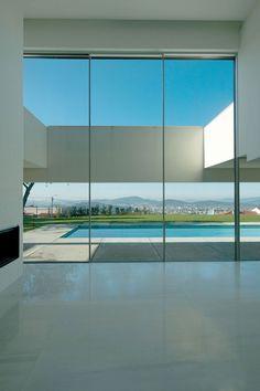 sliding window system by PANORAMAH // Casa Bom Jesus | Topos Atelier de Arquitectura | Braga, Portugal, 2009