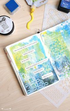 Bullet Journal, Art Journaling, Knight