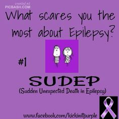 Epilepsy problems/awareness.