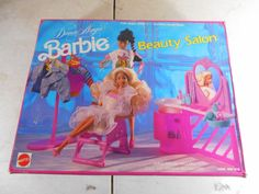 1989 Barbie Dance Magic Beauty Salon w/ Original Box