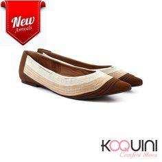 Com tirinhas em couro, além de calce perfeito fica deliciosa e charmosa nos pés #koquini #comfortshoes #euquero Compre Online: http://koqu.in/2dshNyd