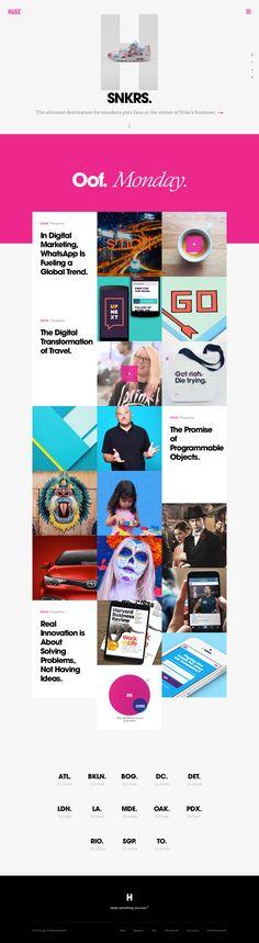 Huge - Digital Agency - Strategy, Design, Marketing & Technology