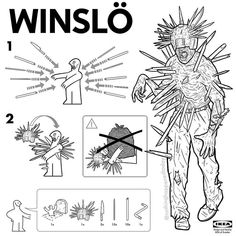 19 Best Ikea Parody Assembly Instructions images | Ikea assembly