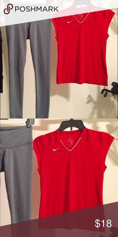Both ITEMS INCLUDED ! Both size small ! BOTH like new condition! Nike Tops Tees - Short Sleeve
