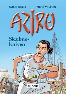 Bognørden: ARIZO - Bind 1 & 2 Skæbnekniven og Den hornede gud...