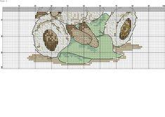 Zz Hedgehog Cross Stitch, Cross Stitch Baby, Cross Stitch Animals, Cross Stitch Charts, Cross Stitch Embroidery, Cross Stitch Patterns, Bear Crafts, Tatty Teddy, Wall Photos