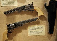 Wild Bill Hickok's Ivory-Handled Colt Navy Revolvers