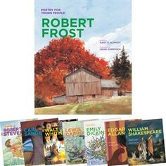Poetry For Young People - 8 Book Set