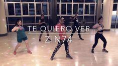 Zumba Fitness - Te Quiero Ver (Cumbia Calypso Techno) ZIN74 | Choreography by Zumba Fitness - YouTube