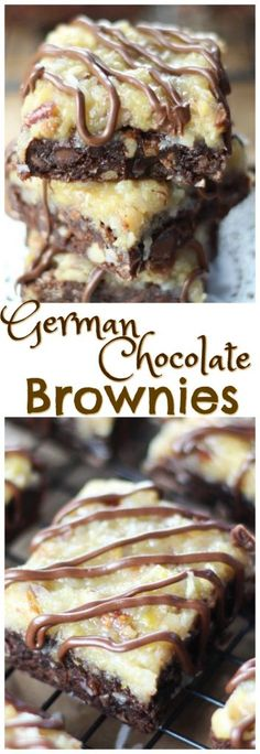 Chocolate Filling For Cake, German Chocolate Cheesecake, German Chocolate Cookies, Chocolate Chunk Brownies, Homemade Chocolate, Chocolate Recipes, Chocolate Chips, Chocolate Cake, Chocolate Deserts