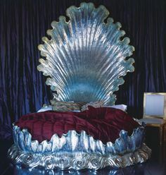 Seashell bed fit for a mermaid