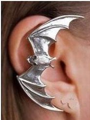 Ear Cuff - Silver Bat Ear Cuff