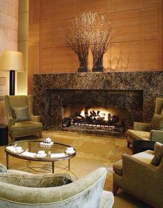 Interior .. Fireplace