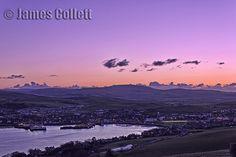 Campbeltown, Kintyre, Argyll, Scotland at Sunset.