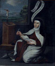 Santa Teresa de Jesus, Virgem e Doutora da Igreja.