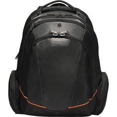"""Buy the Everki Flight Checkpoint Friendly 16"""" Laptop Backpack at eBags - Organize all of your essentials for airport travel inside this checkpoint friendly backpack from Eve"""