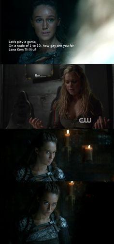Lexa and Clarke #clexa #jathea