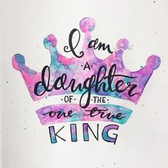 Discovered by I CHOOSE JESUS. Find images and videos about god, king and jesus on We Heart It - the app to get lost in what you love. Bible Verses Quotes, Bible Scriptures, Prayer Quotes, Bibel Journal, Daughters Of The King, Daughter Of God, Quotes On Daughters, Quotes On Father, Father Daughter Quotes